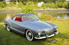 1956 Volkswagen Karmann Ghia Images, Information and History (1200) | Conceptcarz.com #volkswagen #karmann #cars vw