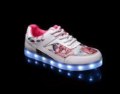 Women new shoes-led lights