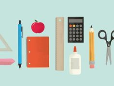Back_to_school #school #supplies