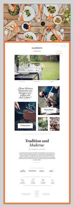 orange, simple, food, website, web
