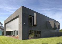 Dezeen » Blog Archive » Safe House by Robert Konieczny #architecture