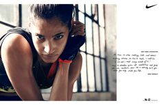 MAP News – Beau Grealy Shoots Women's Training Spring Campaign for Nike #nike #awesome