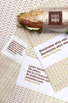 PanPan bakery chain : Rocío Martinavarro #branding #pattern #food #corporate identity #restaurant #bakery #word mark