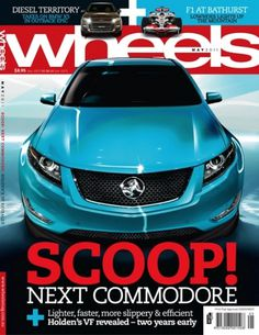 Gas Creative Print #wheels #scoop #cover #commodore #magazine