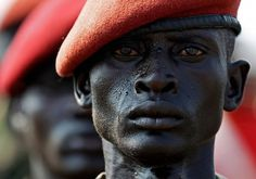 40 Of The Most Powerful Photographs Ever Taken #eyes #sodier #red