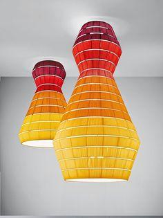 Layers Pendant Lamps by Vanessa Vivian #lamp #design #decoration
