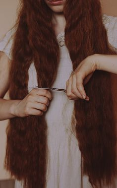 photo #cut #photo #scissors #hair #ginger