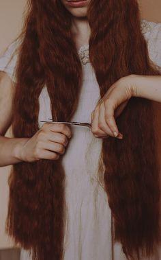 photo #cut #photo #scissors #hair #ginger