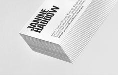 Janine Haddow #graphic #letterpress #clean #birds #illustration #minimal #triplex #duplex