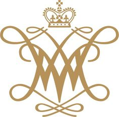 William and Mary cypher #cypher #logo #branding #crown #monogram