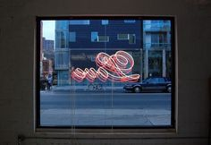 We Love Typography #neon #typography