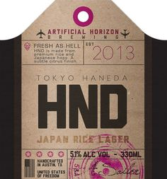 hnd-tag #beer #tag #bottle
