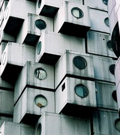 Architecture Photography: AD Classics: Nakagin Capsule Tower / Kisho Kurokawa - naka19 (110774) – ArchDaily #architecture #photography #to