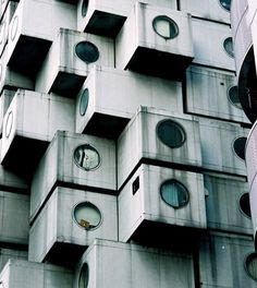 Architecture Photography: AD Classics: Nakagin Capsule Tower / Kisho Kurokawa - naka19 (110774) – ArchDaily #tokyo #photography #architecture