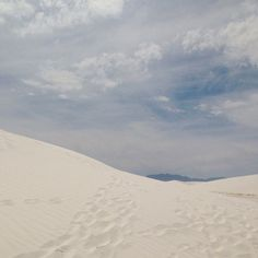 White Sands by sallie harrison