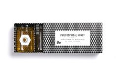 Philosophical Honey — The Dieline #honey