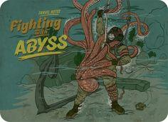 Tumblr #sailor #octopus #hobo #and #postcard