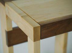 stool BHS 1214 Fly Massive Millworks #fly #massive #millworks #wood #interior #walnut #stool #maple