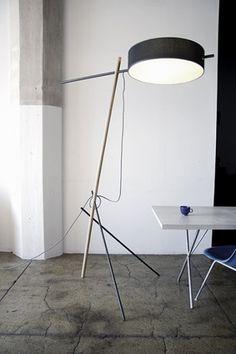 Excel Floor LampRich Brilliant Willing #industrial #design