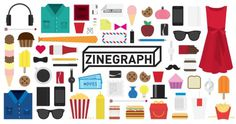 Zinegraph #illustration #branding