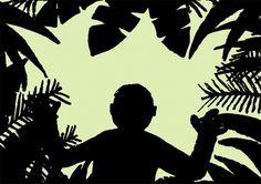 Jean Jullien's online portfolio: SILOUETTES #silhouette #jean jullien #jungle