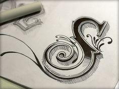 Dribbble - Just an 'S' by Joshua Bullock #lettering #script #joshua #bullock #handmade