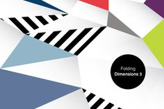Folding Dimensions 3 #facet #folding #geometric