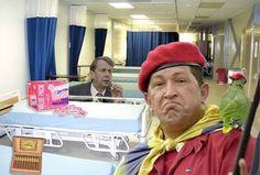 No, The U.S. Did Not Give Hugo Chavez Cancer | Danger Room | Wired.com #files #political #chavez #photoshop #hugo #bad