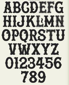 Image #old #serif #ballpark #style #typography
