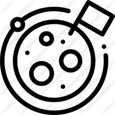 See more icon inspiration related to planet, conquer, discovery, exploration, discover, universe, education, flags, space, science, flag and moon on Flaticon.