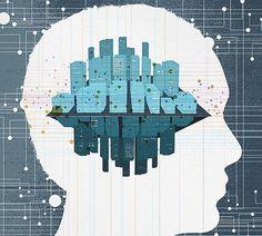 Andrio Abero   Graphic Design & Illustration #mind #illustration #abero #internet