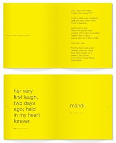 Matter Strategic Design 2011 Sketchbook - FPO: For Print Only #cardboard #yellow #calendar #matter #diecut