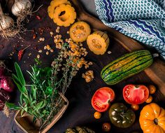 Eyeswoon Delicata Squash Recipe #photo #vegetables #food