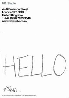 Hand Written Letter Project #logo #letterhead #stationery #identity
