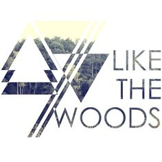 Like The Woods #lines #pathfinder #design #wood #nature #art #triangles