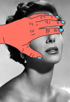 Tyler Spangler's collage. #collage #white #black #and