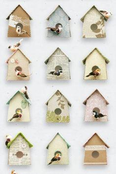 Birdhouse_wallpaper | 17 | Products | Studio ditte #ditte #design #wallpaper #studio