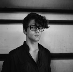 Xavier Dolan #glasses #dolan #photography #xavier