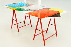Lise Harlev #exhibition #helvetica #table