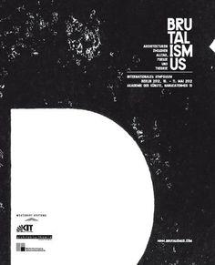 #poster #brutalism #dark