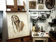 studio #painting #studio #art
