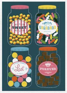 Sweet Memories Last Forever | BLDGWLF #illustration #schrift
