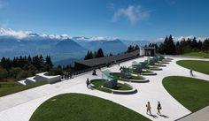 Mineralbad spa Rigi Kaltbad, Mario Botta, architecture, LTVs, Lancia TrendVisions #architecture