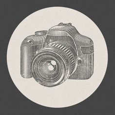 A la lithography on Behance #camera #lens #illustration #photography #vintage
