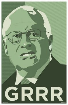 Grrrr | Flickr - Photo Sharing! #greed #cheney #poster #oil
