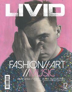 Jesse cover #cover #magazine #fashion #art #publication design