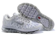 Nike Air Max 2011 WhiteMetallic Silver Mens Shoes #shoes