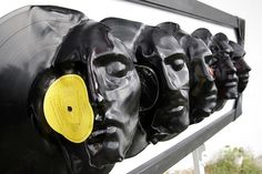 today and tomorrow #plastic #vinyl #sculpture #black