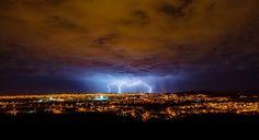 Lightning Crashes_2 #clouds #crashes #http #city #27 #landscape #night #rain #storm #lightning #wwwbehancenetgallerylightning #namibia