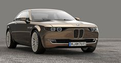 BMW CS vintage concept by david obendorfer pays tribute to 1968 E9 series #concept #car